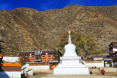 Labrang Lamasery of Tibetan Buddhism in China Stock Images