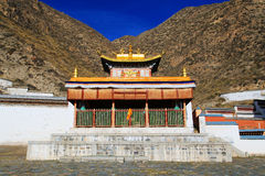 Labrang Lamasery of Tibetan Buddhism in China Royalty Free Stock Photo