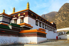 Labrang Lamasery of Tibetan Buddhism in China Stock Photography