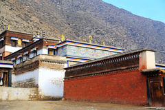 Labrang Lamasery of Tibetan Buddhism in China Stock Image