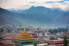 Labrang Lamasery- tibetan Temple Stock Photos