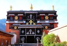 Labrang Lamasery van Tibetaans Boeddhisme in China royalty-vrije stock fotografie