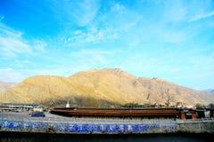 Labrang Lamasery van Tibetaans Boeddhisme in China Stock Fotografie