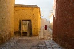 Labrang Monastery immagine stock