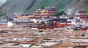 Labrang Monastery - Xiahe, Gannan, Gansu Stock Image