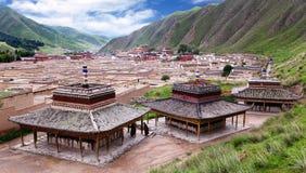 Labrang Monastery - Xiahe, Gannan, Gansu Stock Images
