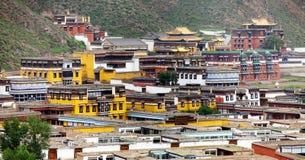 Labrang Monastery - Xiahe, Gannan, Gansu Royalty Free Stock Photography
