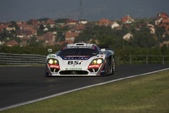 Labre Competition Saleen S7R. At the qualifying of the 1000Km of Hungaroring 2010 Stock Photos