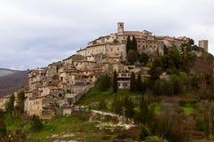 Labro, Rieti - Italia Imagen de archivo libre de regalías