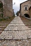 Labro, Rieti - Italia fotografía de archivo