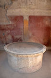 Labrum in Stabian baths (Terme Stabiane), Pompeii Stock Photos