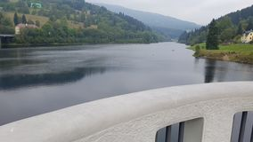 Labska-reservoair Stockbild