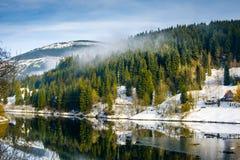 Labska See, Tschechische Republik lizenzfreie stockbilder
