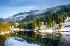 Labska See, Tschechische Republik lizenzfreies stockbild