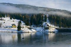 Labska See, Tschechische Republik stockfoto