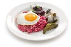 Labskaus, de Noordelijke keuken van Duitsland royalty-vrije stock afbeelding