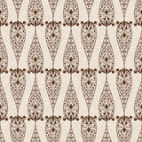 LAbstract Seamless  Ethnic  Floral Pattern Royalty Free Stock Photo