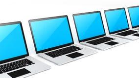 Labtop del dispositivo di Digital Fotografie Stock
