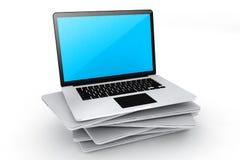 Labtop del dispositivo di Digital Immagine Stock