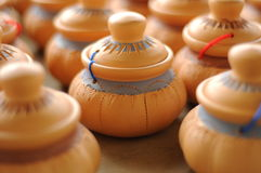 Labu Sayong (традиционные тары для хранения воды) стоковая фотография rf