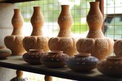 Labu Sayong (традиционные тары для хранения воды) стоковые фотографии rf