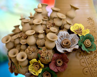 Labu Sayong Pottery Royalty Free Stock Images