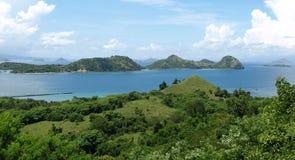 Labuan Bajo, Flores,努沙Tenggara,印度尼西亚 免版税库存照片