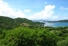 Labuan Bajo, Flores,努沙Tenggara,印度尼西亚 免版税库存图片