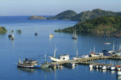 Labuan Bajo Port, Komodo Royalty Free Stock Images