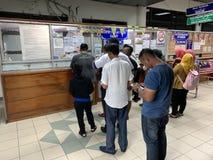 Labuan-Fähre Malaysia stockfoto