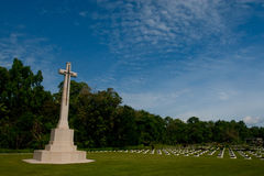 Labuan Krieg-Denkmal Stockfotos