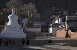 Labuleng Temple. Labrang Monastery is the Gelug Sect of Tibetan Buddhism, one of six major monasteries in Gansu Province Xiahe County, Gannan Tibetan Autonomous Stock Photos