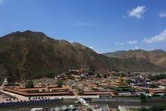 Labulengsi temple in Gannan Stock Photo