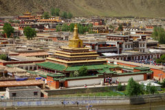 Labulengsi temple in Gannan Royalty Free Stock Image