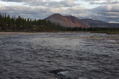 Labynkyr river Stock Image