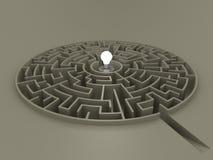 Labyrint 02 royalty-vrije stock foto