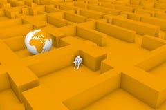 Labyrint vector illustratie