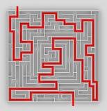 labyrint Royaltyfria Bilder