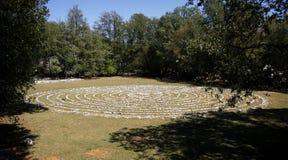 Labyrint Stock Foto's