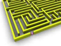 labyrint Royaltyfri Bild