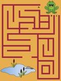 Labyrint stock illustratie