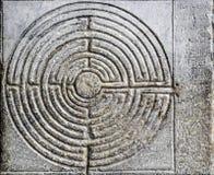 Labyrint Arkivfoto