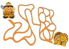Labyrint 150 Royalty-vrije Stock Afbeelding