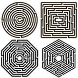 labyrint Royaltyfri Fotografi