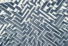 Labyrint 3D Achtergrond Royalty-vrije Stock Foto