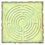 labyrint för 6 strömkrets Royaltyfria Foton