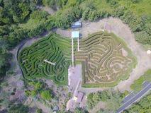 Labyrint från himlen Arkivfoton