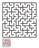 Labyrint, labyrintraadsel voor jonge geitjes Stock Afbeeldingen
