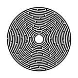 Labyrint lek, underhållning, pussel, vektorbild vektor illustrationer