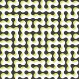 labyrint Naadloos patroon Vector illustratie Royalty-vrije Stock Foto